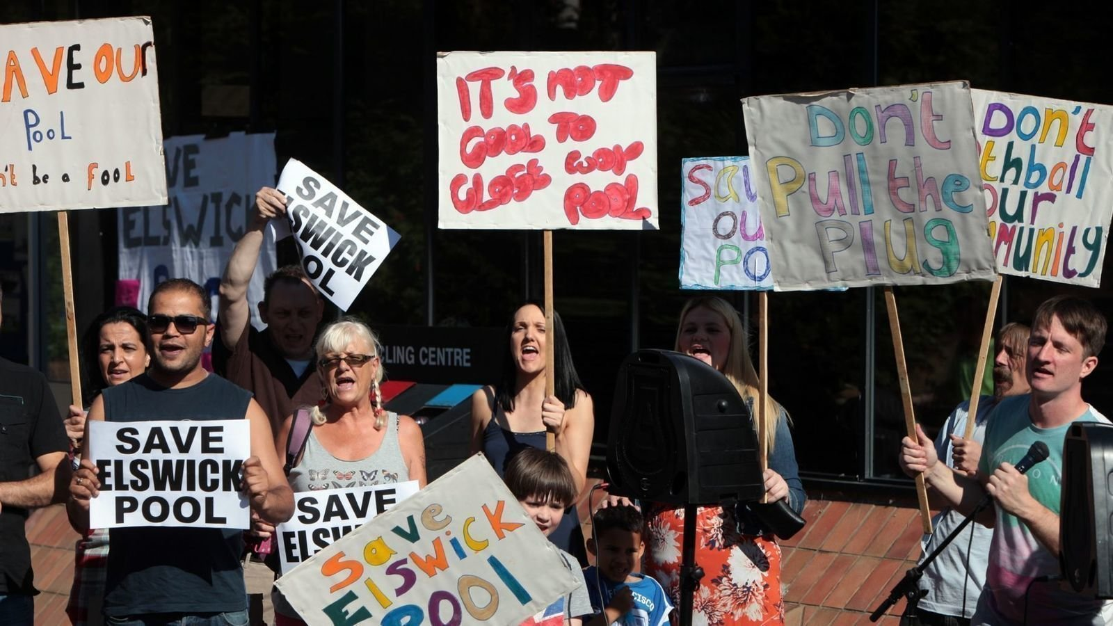 Petition Jeremy Corbyn Save Elswick Pool No To Privatisation Of Newcastle 39 S Sport Centres