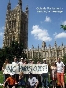 Save Our Parks! Protect and invest in the UK's public green spaces
