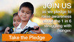 Pledge To Help Those in Need: TOGETHER We Can Solve Hunger