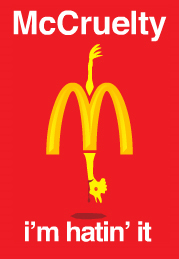 Help Stop McDonald's Cruelty Now!