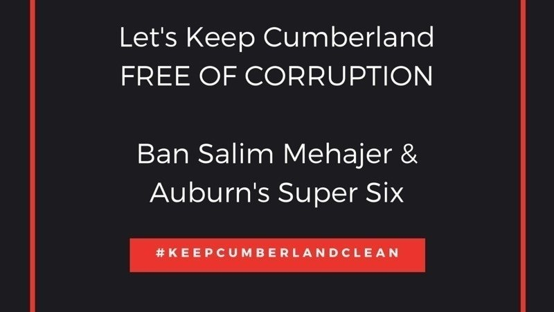 Petition · Mike Baird: Keep Cumberland Clean · Change.org