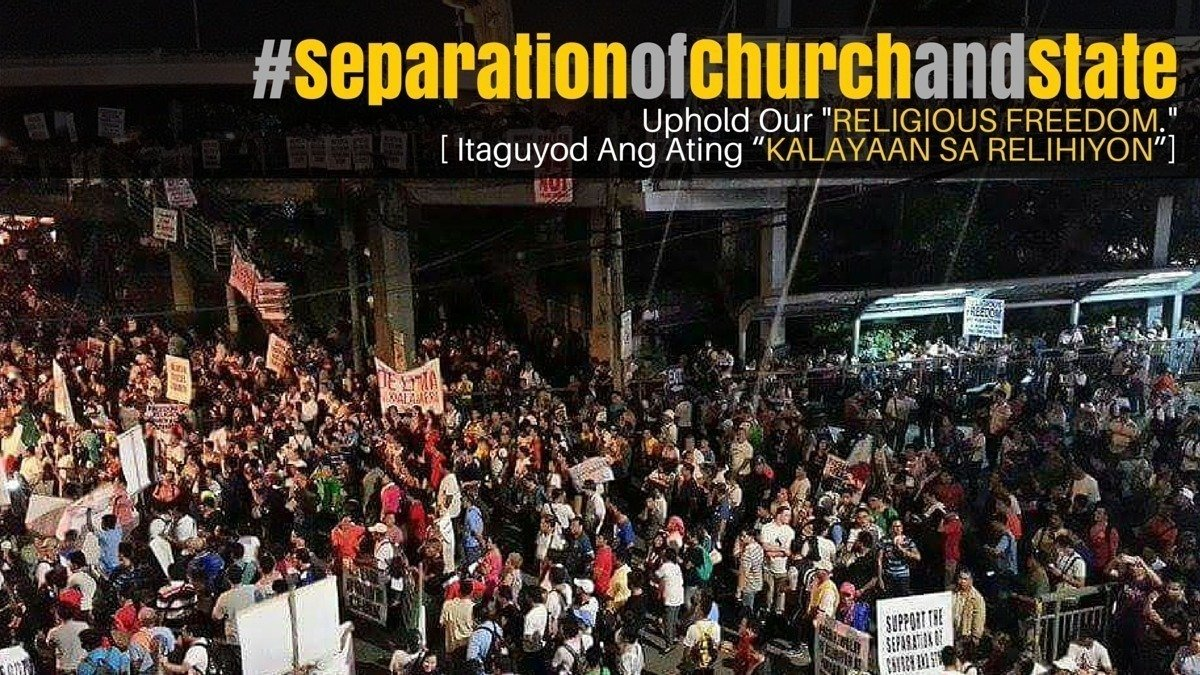 religious freedom in the philippines Begun and held in metro manila, on monday, the twenty-third day of july, two  thousand seven  it shall guarantee religious freedom and shall not  discriminate.
