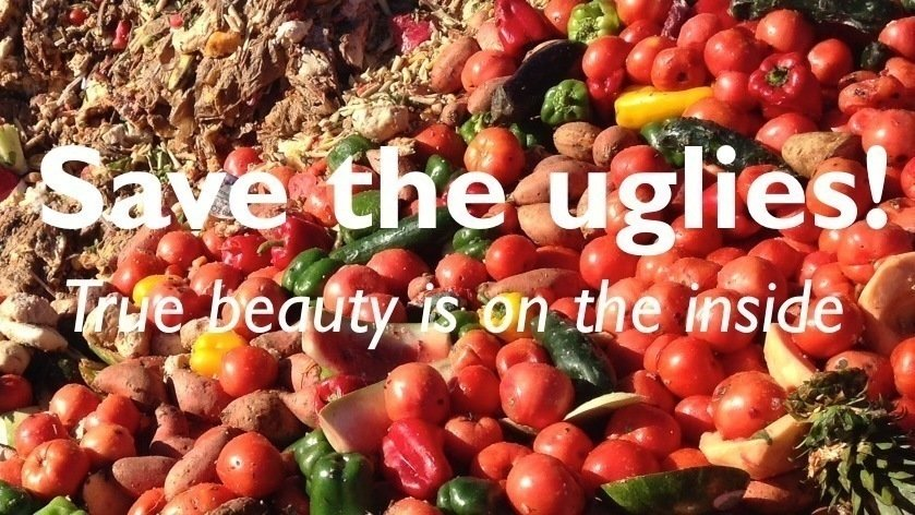 Afbeeldingsresultaat voor save the uglies food waste
