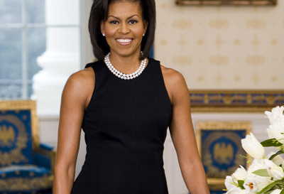 Thank First Lady Michelle Obama for rejecting to wear apparel made with animal fur.