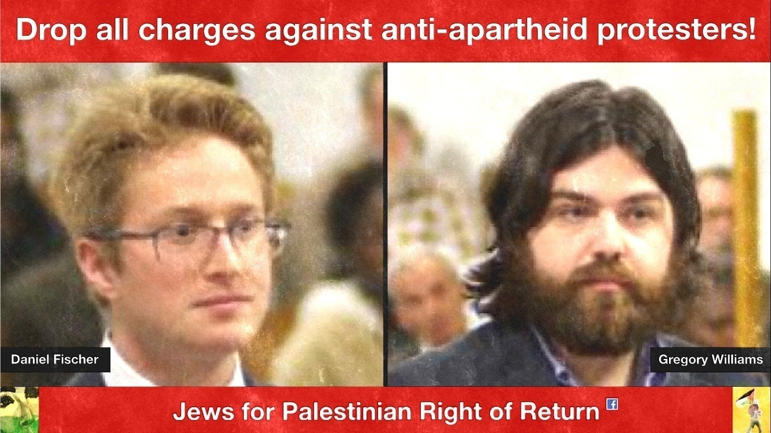 petition middot jews say end the war on gaza no aid to apartheid state s attorney david i cohen drop all charges against anti apartheid protesters daniel