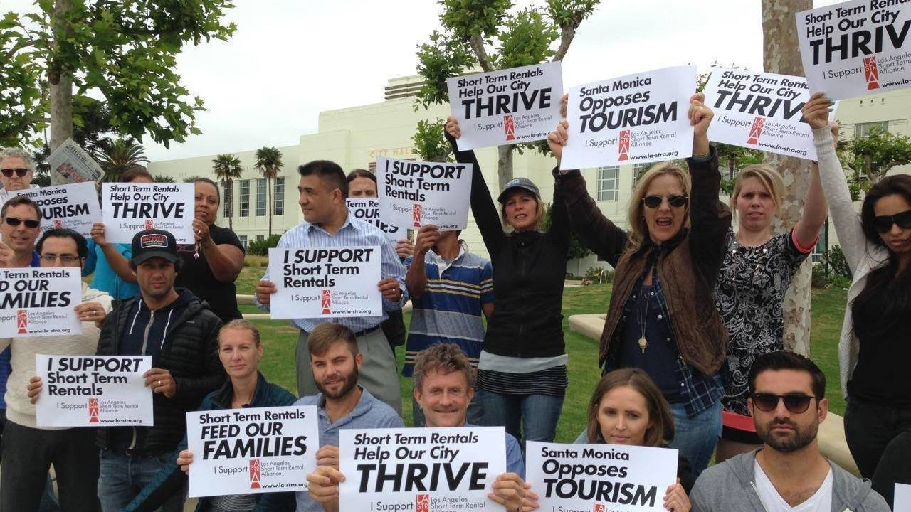 Petition los angeles city council economic development for Short term vacation rentals los angeles