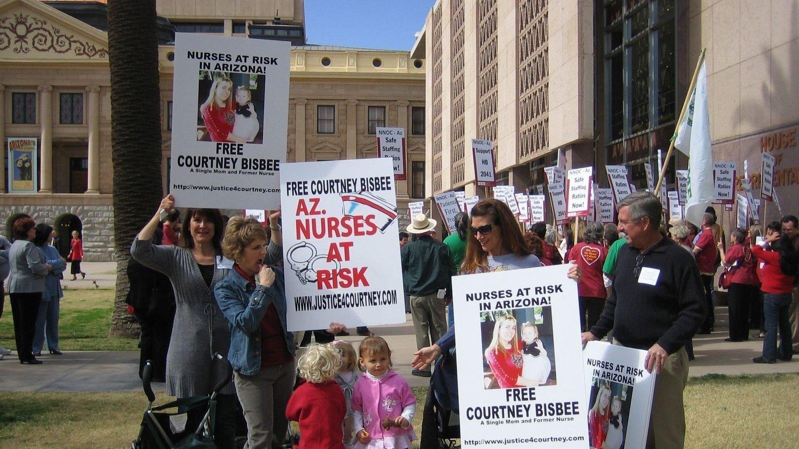 Help Free an Innocent Mom - Courtney Bisbee, Maricopa County, AZ
