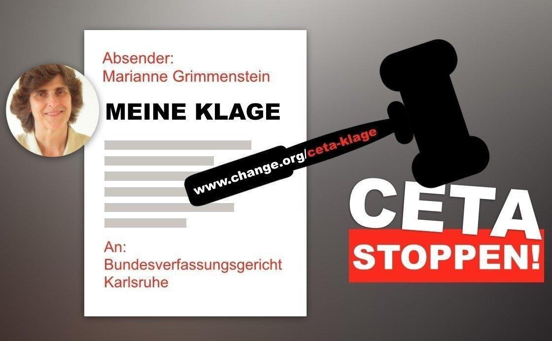 Bürgerklage gegen CETA