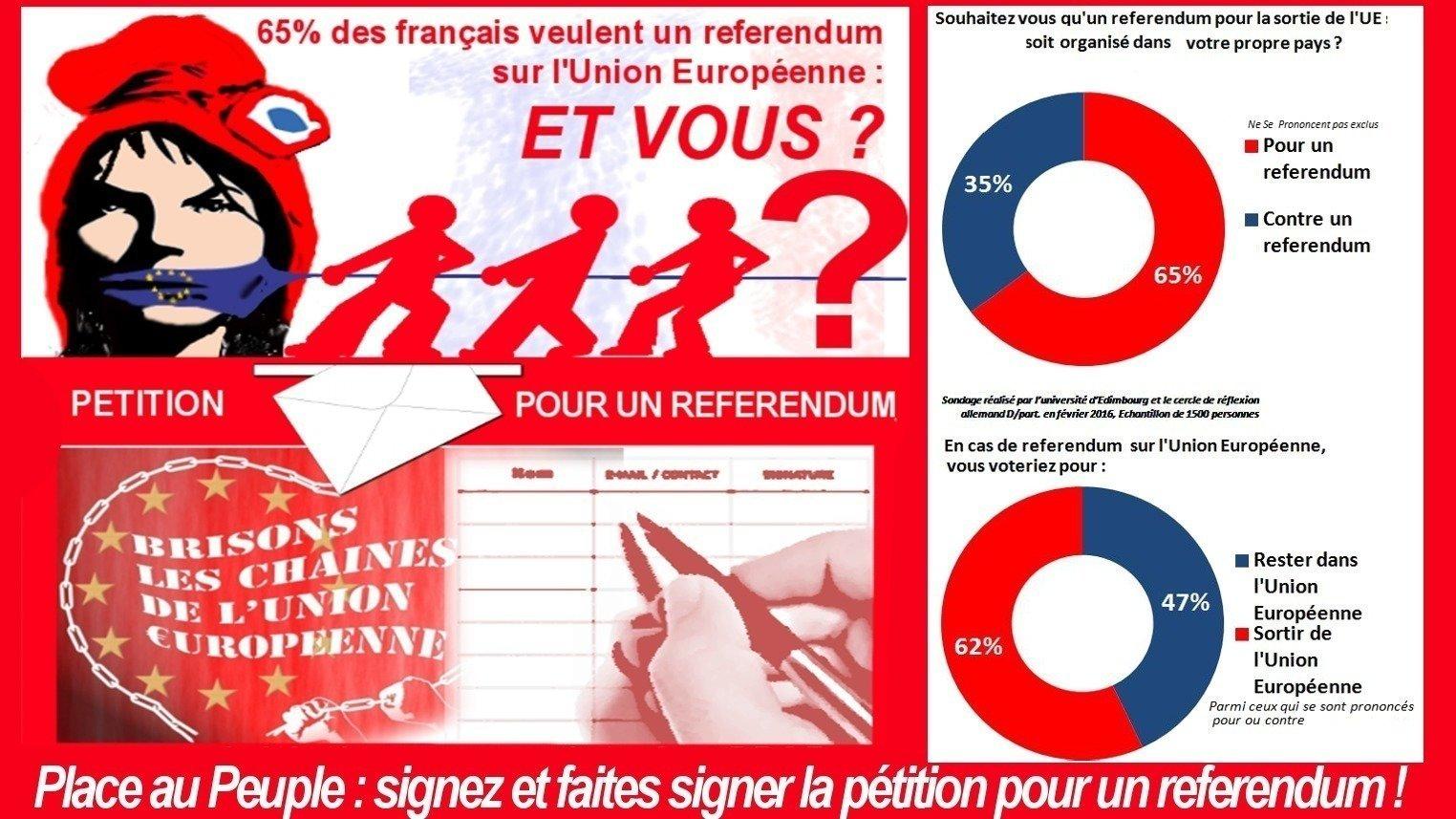 Petition pr sident de la r publique pour un referendum - La chambre des preteurs de l union europeenne ...