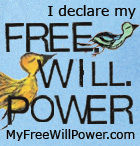 Declare YOUR free.will.power