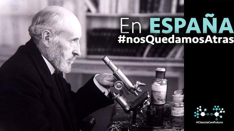 Cartel - Por un pacto por la Ciencia en España nos quedamos atrá
