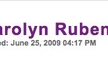 Support Carolyn Rubenstein on Huffington Post!