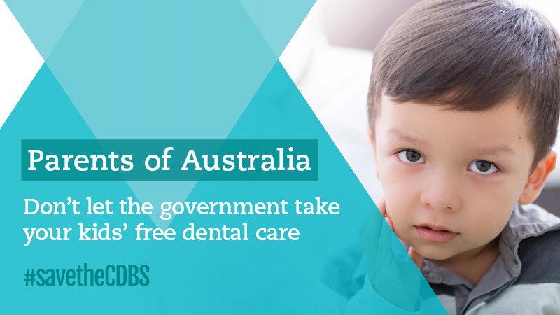 CDBS: Save the Child Dental Benefit Scheme!