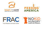 Bread for the World, Feeding America, Food Research and Action Center, and No Kid Hungry