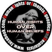 Human Rights For Atheists, Agnostics and Secularists
