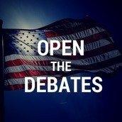 Open The Debates!