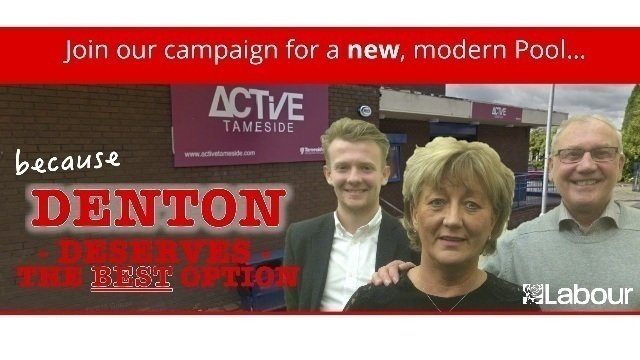 Petition a brand new pool and wellness centre for denton - Denton swimming pool denton manchester ...