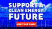 Add Your Name for a Clean Energy Future