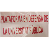 Plataforma en defensa de la Universitat Pública