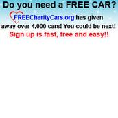 Charity Cars