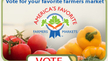 Vote for Your Favorite Farmers Market