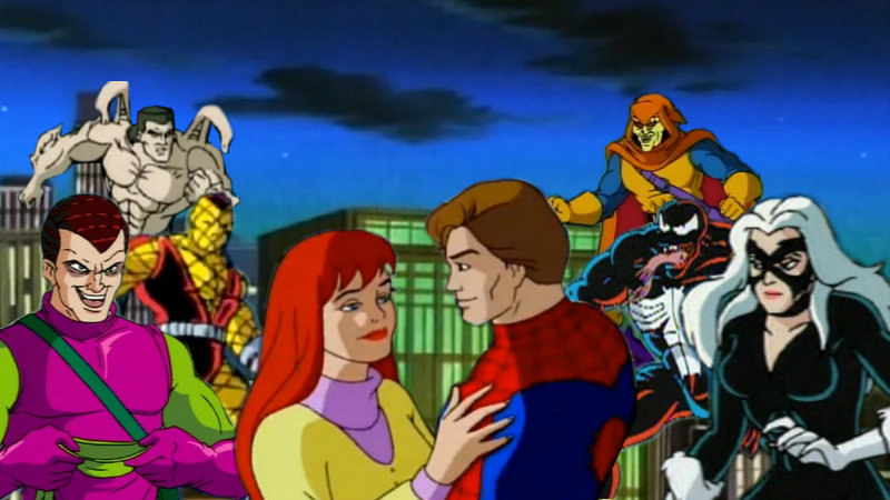 Image result for spider man 1990s animated series