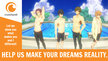 "Animation DO and Kyoto Animation.: Make ""Swimming Anime"" CM into an actual series."
