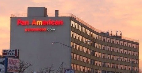 petition against Pan Am shelter contract