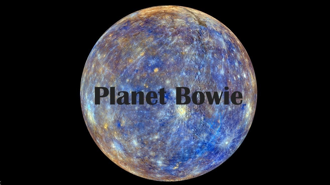 Petition 183 Name The Newly Discovered Planet 9 Quot Bowie
