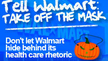 For Halloween: Turn Walmart's Health Care Rhetoric into Real Reform